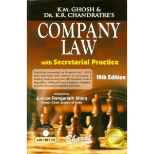 Bharat's Company Law with Secretarial Practice Volume - IV [HB] by K.M. Ghosh & Dr. K.R. Chandratre